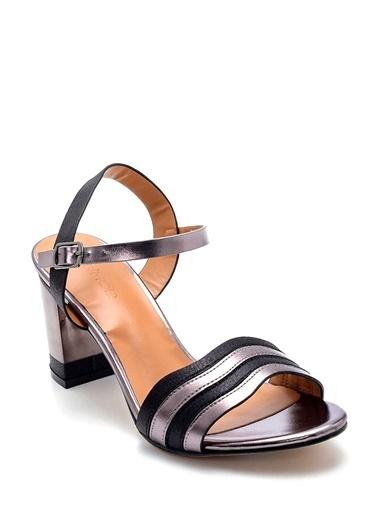 Derimod Kadın Sandalet (Zs3297-F8) Casual Siyah